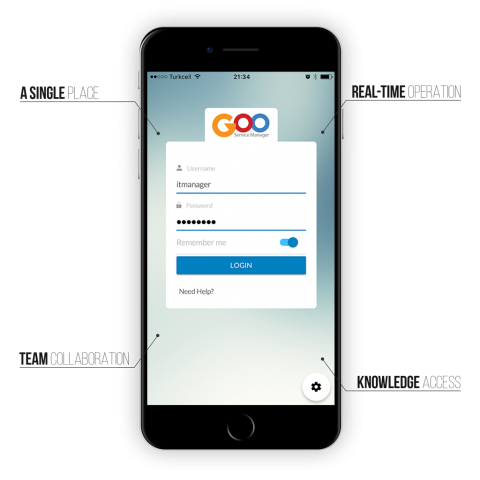goo mobile it service management